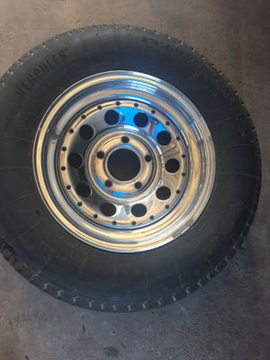 Rim and tire for trailer for Sale in Mesa, AZ