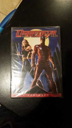 Daredevil Widescreen Version Dvd Brand New for Sale in Westport, MA