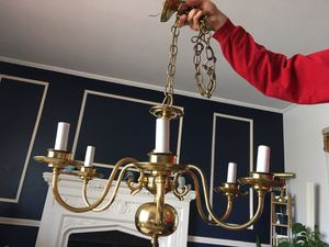 Chandelier- Vintage 6 Candle Style for Sale in Rocky River, OH