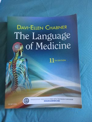 The language of medicine textbook for Sale in Oregon City, OR