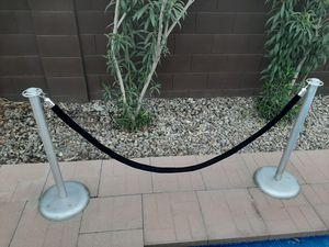 VIP Stands with black velvet rope for Sale in Oro Valley, AZ