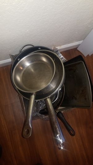 25$ for ALL Cookware, 4 pans, 1 pot, 3 baking trays for Sale in Seattle, WA