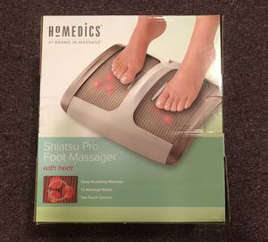 Homedics Shiatsu Pro Foot Massager for Sale in Monsey, NY
