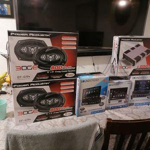 Amp, Speakers, Stereos Brand New for Sale in Tijuana, MX