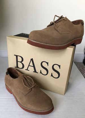NEW Bass Mens Exeterm Dirty Buc Oxfords Lace Up Dress Shoe Sz 11 W Retail $100 for Sale in Washington, DC