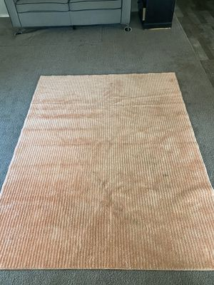 Accent peach Rug for Sale in Homeland, CA