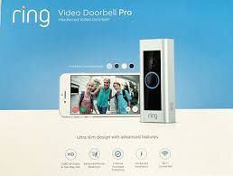 Brand New Ring Video Doorbell Pro Satin Nickel
