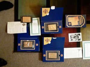 Golden legends of baseball 22-karat gold collectors card for Sale in Clovis, CA