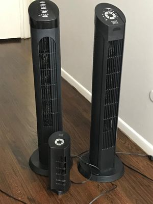Tower Fan with remote for Sale in Trenton, NJ