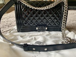 Medium boy bag. Real leather. for Sale in Irvine, CA