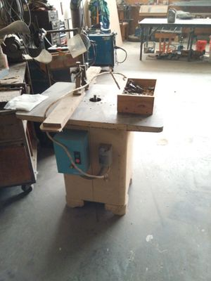 Toshiba Shaper Table with Several Bits for Sale in High Point, NC