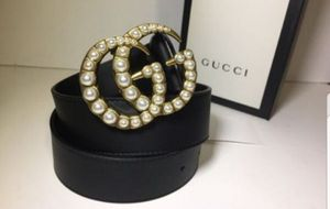 Gucci Pearl Double G Buckle Leather Belt Authentic for Sale in Queens, NY