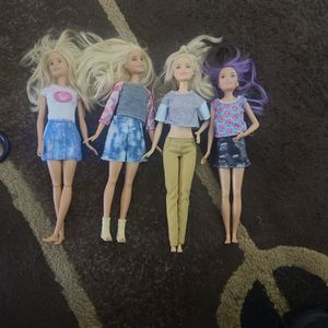 4 NEWER BARBIES for Sale in Vancouver, WA