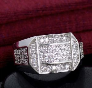 Men's 925 starling silver diamond wadding engagement rings sizes 9/11/12 for Sale in Moreno Valley, CA