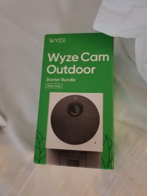 Wyze out door started kit for Sale in Temecula, CA