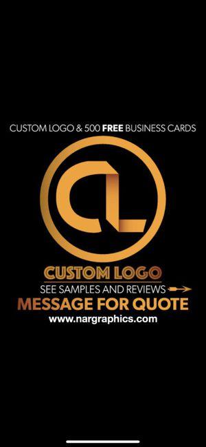 CustomeLogo w/500FREEBusinessCards for Sale in Ontario, CA