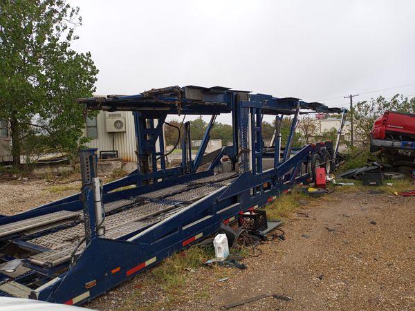 Car hauler cottrell trailer