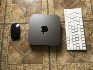 Mac mini w keyboard and mouse included (3.6 quad core processor 128gb storage) for Sale in Lawrence, MA