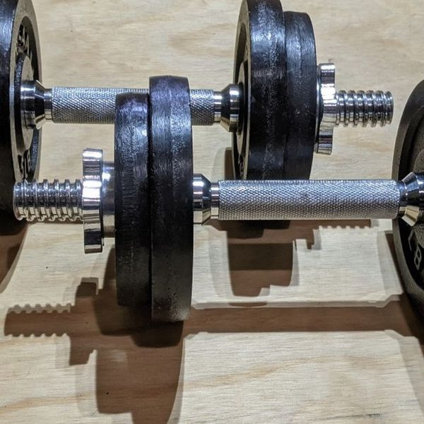 Yes4all Adjustable Dumbbells - 50 Lbs