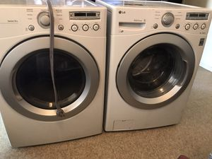 Washer and dryer work good electric delivery extra for Sale in Mesa, AZ