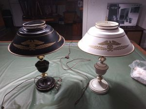 Vintage eagle lamps for Sale in New Albany, IN