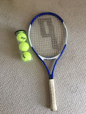 Prince tennis racket + new tennis 🎾. for Sale in Fremont, CA
