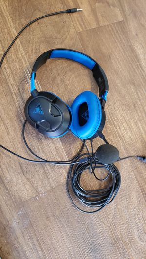 Turtle beach video games headset for Sale in San Diego, CA