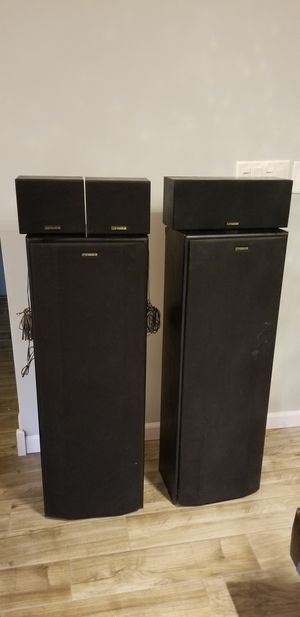 Fisher Vintage audio speaks 5 speakers for Sale in Westmont, IL
