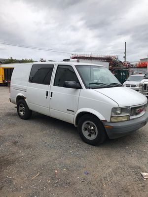 2002 GMC Safari cargo van LOW MILES same as chevy astro for Sale in Brooklyn, NY