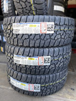 WildPeak AT3W 265/70/17 Tires (4 for $620) for Sale in Whittier, CA