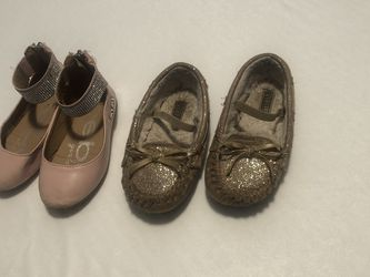 Size 7 Toddler Girl Shoes (free) for Sale in West Valley City,  UT