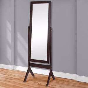 Brown stand up mirror for Sale in Washington, DC