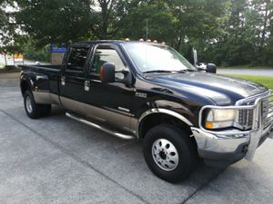 """2004Ford Super Duty F-350 DRW Crew Cab 156"""" Lariat 4WD FX4 of road -Diesel 6.0L automatic 4x4 dooley With maximum towing capacity -low Miles 179850 - for Sale in Duluth, GA"""