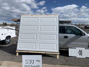 8x7 garage door for Sale in Denver, CO