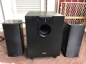 Onkyo subwoofer and front speakers for Sale in Falls Church, VA