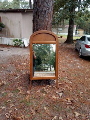 Oak mirror for Sale in Jesup, GA