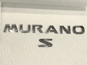 Nissan MURANO S chrome symbol badge lettering - SUV - Truck - OE Parts!! for Sale in Plainfield, IL