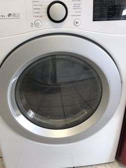 LG ELECTRIC DRYER BRAND NEW OPEN BOX for Sale in March Air Reserve Base,  CA