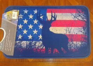 USA Flag and Deer Memory Foam Mat - Brand New!! for Sale in Auburn, WA