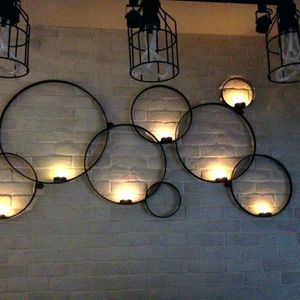 Pottery Barn Circles Wall-Mount Candle Holder for Sale in Alexandria, VA