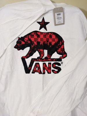 New Vans Long Sleeve Tee shirt for Sale in Erlanger, KY