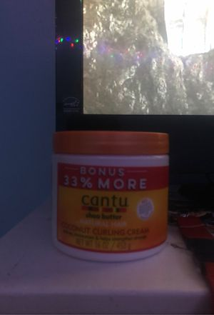 CANTU SHEA BUTTER (NATURAL HAIR) I been used a few times for Sale in Columbus, OH