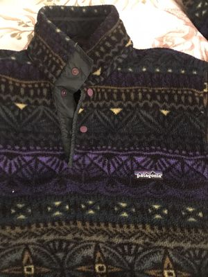 Patagonia snap-t synchilla fleece for Sale in Stanwood, WA