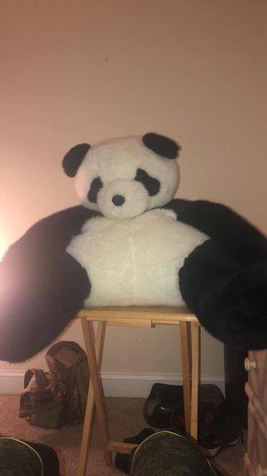 Giant stuffed panda bear for Sale in Leesburg, VA