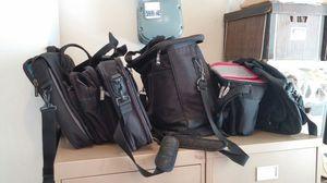 5 black bags (3.00 a bag) for Sale in Alexandria, VA