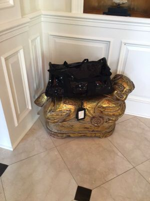 Sequin Duffle Bags Blistering Black for Sale in McLean, VA
