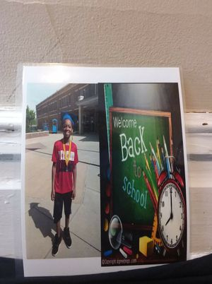 Back to school. First-day of school gift photo for Sale in Portage, MI