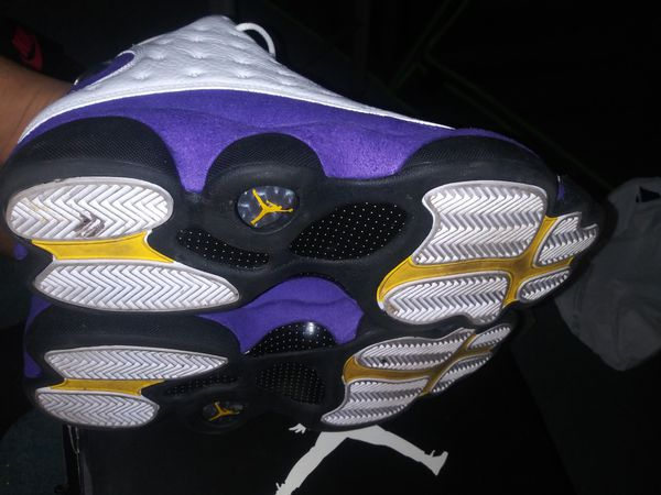 Jordan Retro Laker 13 no box size 12