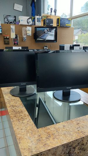 "2 view Sonic 20"" monitors for Sale in Greenville, SC"