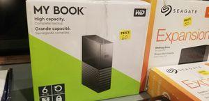 6tb hard drive for Sale in Modesto, CA